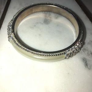 Vintage silver bangle